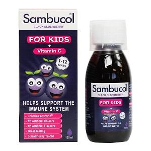 sambucol + vit c