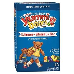 YUMMI BEARS ECHINACEA+VITAMIN C+ ZINC