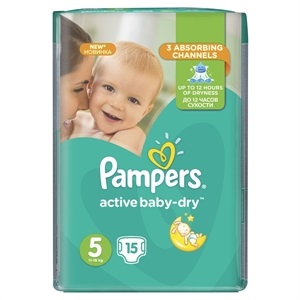pampers 5 tmx 15