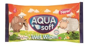 aqua soft wet wipes