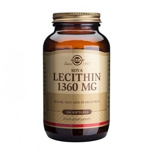 soya lecithin 1360mg 100 softgels